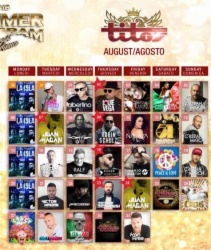Mallorca Parties Titos Disco Line Up Summer 2018